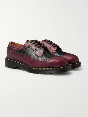 Dr. Martens 3989 Two-Tone Leather Brogues