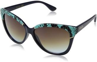 Jessica Simpson Women's J5337 NVAN Non-Polarized Iridium Cateye Sunglasses