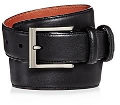 Trafalgar Men's Corvino Double-Keeper Leather Belt
