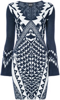Just Cavalli graphic pattern dress