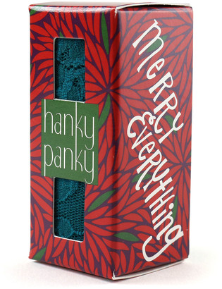 Hanky Panky Merry Everything Boxed Original-Rise Lace Thong