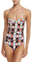 Emilio Pucci Monreale Printed One-Piece Swimsuit