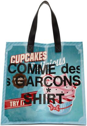 Comme des Garcons Multicolor Cupcakes Shopping Tote