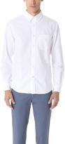 Club Monaco Solid Oxford Dress Shirt