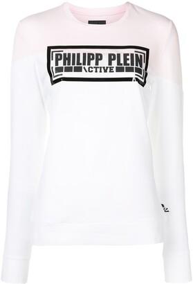 Philipp Plein Logo Sweatshirt