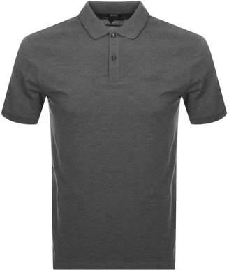 HUGO BOSS Boss Business Pallas Polo T Shirt Grey