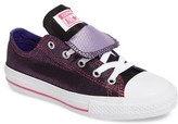Converse Girl's Chuck Taylor All Star Double Tongue Sneaker