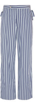 Bode BODE Tie-Detail Striped Cotton Pants