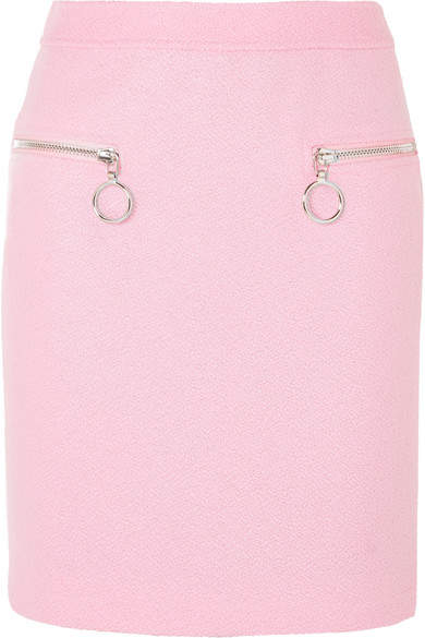Moschino Wool-blend Skirt - Pink