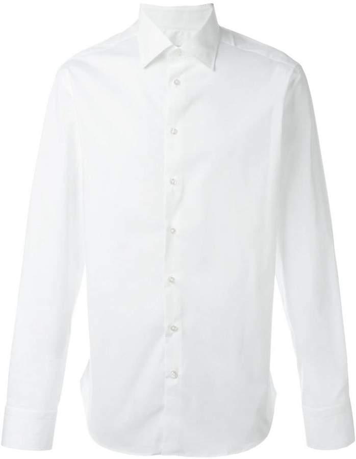Etro cuffed button down shirt