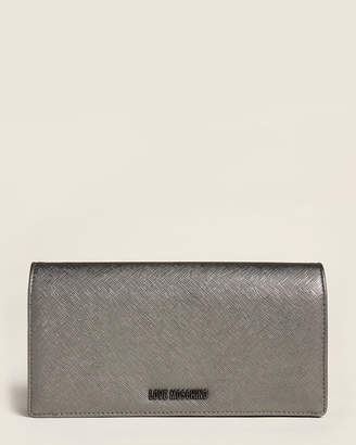 Love Moschino Gun Saffiano Flap Wallet