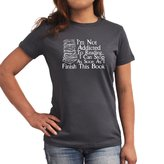 Eddany Not Addicted to Reading Can Stop Finish this Book Women T-Shirt