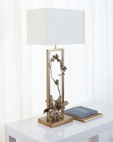 John-Richard Collection Blooming Pierced Orchid Table Lamp