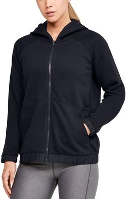 Under Armour Women's UA Hustle Fleece Full Zip Hoodie