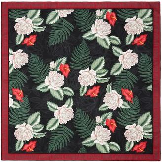 Gucci Hawaiian print silk scarf