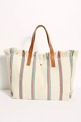 Free People Fp Collection Espana Woven Tote by FP Collection at