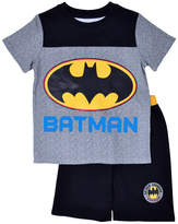Batman 2-pc Shorts Set Toddler Boys