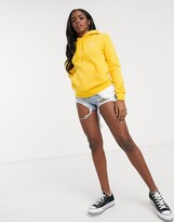 Converse Star Chevron logo yellow hoodie