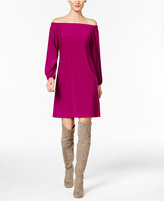 INC International Concepts Petite Off-The-Shoulder Dress, Only at Macy's