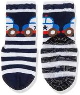 Sterntaler Baby Boys' Fli Sun Polizeiauto Calf Socks,2