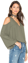 Eight Sixty Cut Out Shoulder Top