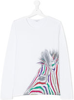 Little Marc Jacobs glitter zebra top
