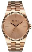 Nixon Women's Idol Quartz Watch with Quartz Dial Analogue Display and Rose Gold Stainless Steel Plated Bracelet