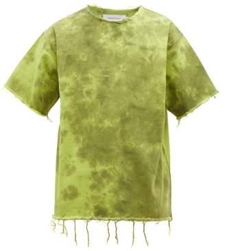 Marques Almeida Marques'almeida - Tie Dye Denim T Shirt - Mens - Green