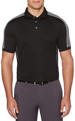 PGA Tour TOUR Mens Collar Neck Short Sleeve Polo Shirt