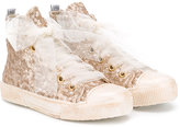 Duca Heritage - Olivia hi-top sneakers - kids - Cotton - 27