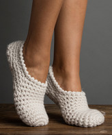 No-Nà Lemon Legwear Women's Socks WHTSN - White Nona Slipper Socks - Women