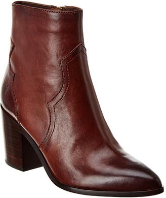 Frye Flynn Short Inside Zip Leather Boot