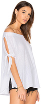 Nation Ltd. Ava Off the Shoulder Top in White. - size XS (also in )
