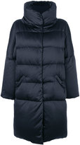 Herno long funnel neck puffer jacket