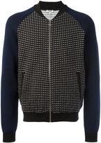 Kenzo zip-up knitted bomber - men - Cotton/Polypropylene - M