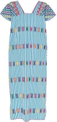 Pippa Holt striped kaftan midi dress