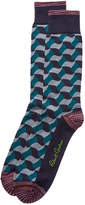 Robert Graham Foliage Socks