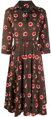 Samantha Sung Blake floral print shirt dress