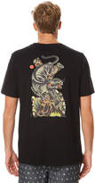 RVCA Panther Mens Tee Black