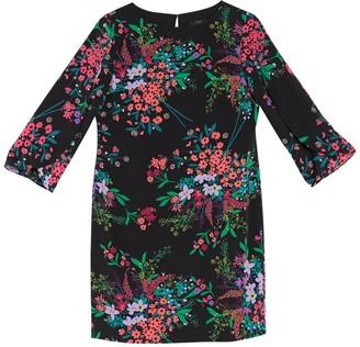 trina Trina Turk Battista Floral Sheath Dress