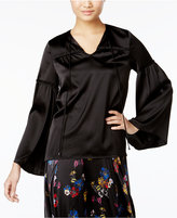 Catherine Malandrino Clea Bell-Sleeve Peasant Top