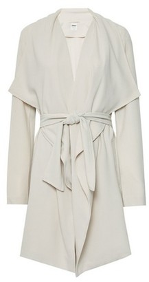 Dorothy Perkins Womens Only Beige Shawl Wrap Coat