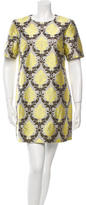 Mary Katrantzou Silk-Blend Brocade Dress