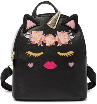 Betsey Johnson Luv Betsey By Kitsch Mid Size Animal Backpack
