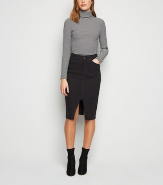 New Look 'Lift & Shape' Denim Pencil Skirt