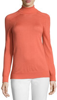 See by Chloe Turtleneck Raglan Sweater, Salmon