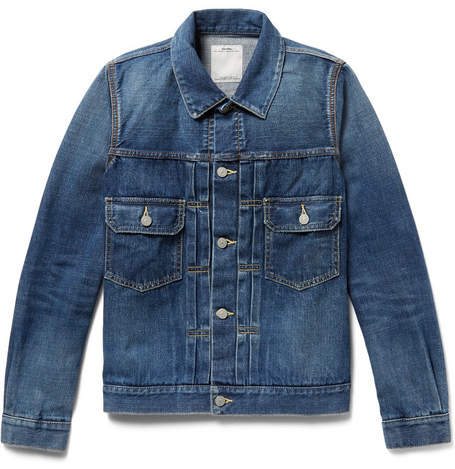 Visvim 101 Selvedge Denim Jacket - Men - Blue