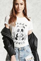 Forever 21 FOREVER 21+ Ramen Power Slub Knit Tee