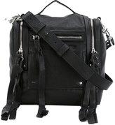 McQ by Alexander McQueen Loveless convertible box bag - women - Leather - One Size