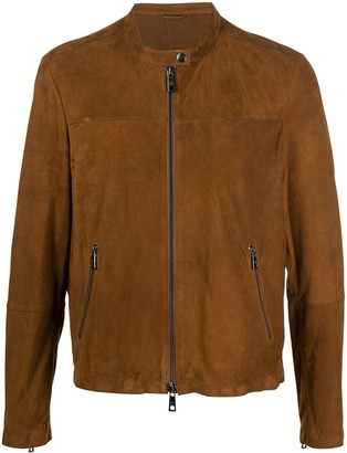 Giorgio Brato Slim-Fit Biker Jacket